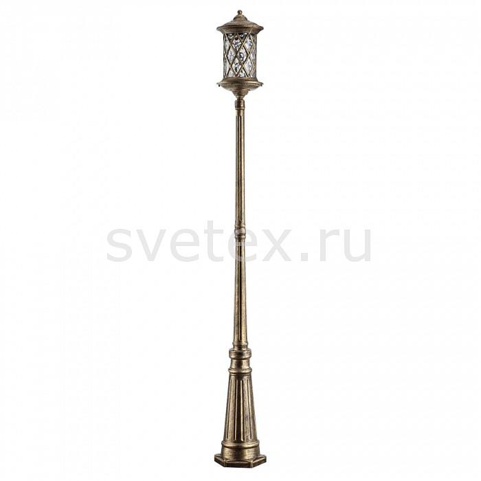 Наземный высокий светильник FeronСветильники<br>Артикул - FE_11510,Бренд - Feron (Китай),Коллекция - Тироль,Гарантия, месяцы - 24,Высота, мм - 1675,Диаметр, мм - 180,Тип лампы - компактная люминесцентная [КЛЛ] ИЛИнакаливания ИЛИсветодиодная [LED],Общее кол-во ламп - 1,Напряжение питания лампы, В - 220,Максимальная мощность лампы, Вт - 60,Лампы в комплекте - отсутствуют,Цвет плафонов и подвесок - неокрашенный,Тип поверхности плафонов - прозрачный,Материал плафонов и подвесок - стекло,Цвет арматуры - золото черненое,Тип поверхности арматуры - матовый,Материал арматуры - силумин,Количество плафонов - 1,Тип цоколя лампы - E27,Класс электробезопасности - I,Степень пылевлагозащиты, IP - 44,Диапазон рабочих температур - от -40^C до +40^C<br>