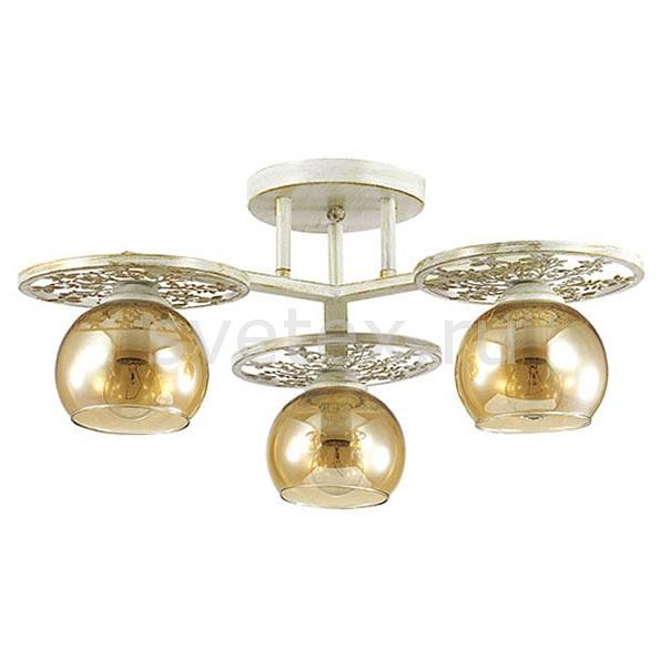 Потолочная люстра LumionЛюстры<br>Артикул - LMN_3234_3C,Бренд - Lumion (Италия),Коллекция - Lunett,Гарантия, месяцы - 24,Высота, мм - 230,Диаметр, мм - 450,Размер упаковки, мм - 130x470x470,Тип лампы - компактная люминесцентная [КЛЛ] ИЛИнакаливания ИЛИсветодиодная [LED],Общее кол-во ламп - 3,Напряжение питания лампы, В - 220,Максимальная мощность лампы, Вт - 40,Лампы в комплекте - отсутствуют,Цвет плафонов и подвесок - янтарный,Тип поверхности плафонов - прозрачный,Материал плафонов и подвесок - стекло,Цвет арматуры - белый с золотой патиной,Тип поверхности арматуры - матовый,Материал арматуры - металл,Количество плафонов - 3,Возможность подлючения диммера - можно, если установить лампу накаливания,Тип цоколя лампы - E14,Класс электробезопасности - I,Общая мощность, Вт - 120,Степень пылевлагозащиты, IP - 20,Диапазон рабочих температур - комнатная температура,Дополнительные параметры - способ крепления к потолку - на монтажной пластине<br>