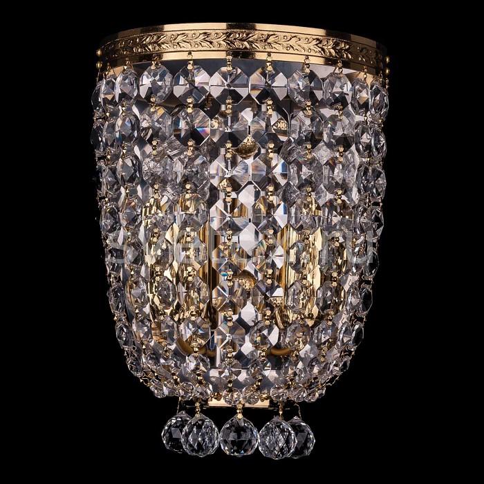 Фото Накладной светильник Bohemia Ivele Crystal 1928 1928/2/S/G