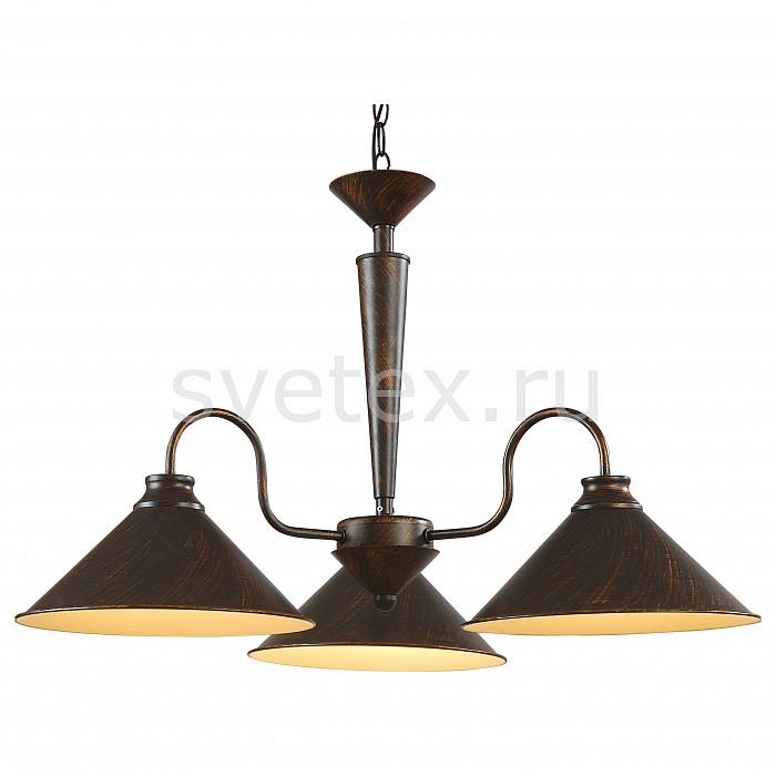 Фото Подвесная люстра Arte Lamp Cone A9330LM-3BR