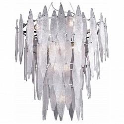 Подвесная люстра Crystal LuxБолее 6 ламп<br>Артикул - CU_3010_216,Бренд - Crystal Lux (Испания),Коллекция - Solaris,Гарантия, месяцы - 24,Высота, мм - 825-1200,Диаметр, мм - 900,Тип лампы - компактная люминесцентная [КЛЛ] ИЛИнакаливания ИЛИсветодиодная [LED],Общее кол-во ламп - 16,Напряжение питания лампы, В - 220,Максимальная мощность лампы, Вт - 60,Лампы в комплекте - отсутствуют,Цвет плафонов и подвесок - белый,Тип поверхности плафонов - матовый,Материал плафонов и подвесок - стекло,Цвет арматуры - хром,Тип поверхности арматуры - глянцевый,Материал арматуры - металл,Возможность подлючения диммера - можно, если установить лампу накаливания,Тип цоколя лампы - E27,Класс электробезопасности - I,Общая мощность, Вт - 960,Степень пылевлагозащиты, IP - 20,Диапазон рабочих температур - комнатная температура,Дополнительные параметры - регулируется по высоте,  способ крепления светильника к потолку – на монтажной пластине<br>