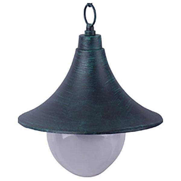Подвесной светильник Arte LampСветильники<br>Артикул - AR_A1085SO-1BG,Бренд - Arte Lamp (Италия),Коллекция - Malaga,Гарантия, месяцы - 24,Время изготовления, дней - 1,Высота, мм - 300-970,Диаметр, мм - 250,Размер упаковки, мм - 250x220x220,Тип лампы - компактная люминесцентная [КЛЛ] ИЛИнакаливания ИЛИсветодиодная [LED],Общее кол-во ламп - 1,Напряжение питания лампы, В - 220,Максимальная мощность лампы, Вт - 100,Лампы в комплекте - отсутствуют,Цвет плафонов и подвесок - неокрашенный,Тип поверхности плафонов - прозрачный,Материал плафонов и подвесок - поликарбонат,Цвет арматуры - старая медь,Тип поверхности арматуры - матовый,Материал арматуры - металл,Количество плафонов - 1,Тип цоколя лампы - E27,Класс электробезопасности - II,Степень пылевлагозащиты, IP - 44,Диапазон рабочих температур - от -40^C до +40^C,Дополнительные параметры - способ крепления светильника к потолку — на монтажной пластине<br>