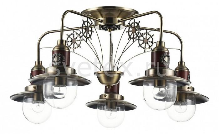 Потолочная люстра FreyaЛюстры бронзовые свеча<br>Артикул - MY_FR853-05-R,Бренд - Freya (Германия),Коллекция - Marino,Гарантия, месяцы - 24,Высота, мм - 360,Диаметр, мм - 730,Тип лампы - компактная люминесцентная [КЛЛ] ИЛИнакаливания ИЛИсветодиодная [LED],Общее кол-во ламп - 5,Напряжение питания лампы, В - 220,Максимальная мощность лампы, Вт - 60,Лампы в комплекте - отсутствуют,Цвет плафонов и подвесок - неокрашенный,Тип поверхности плафонов - прозрачный,Материал плафонов и подвесок - стекло,Цвет арматуры - бронза, коричневый,Тип поверхности арматуры - матовый,Материал арматуры - металл,Количество плафонов - 5,Возможность подлючения диммера - можно, если установить лампу накаливания,Форма и тип колбы - свеча ИЛИ свеча на ветру,Тип цоколя лампы - E27,Класс электробезопасности - I,Общая мощность, Вт - 300,Степень пылевлагозащиты, IP - 20,Диапазон рабочих температур - комнатная температура,Дополнительные параметры - способ крепления светильника к потолку - на монтажной пластине, стиль кантри<br>