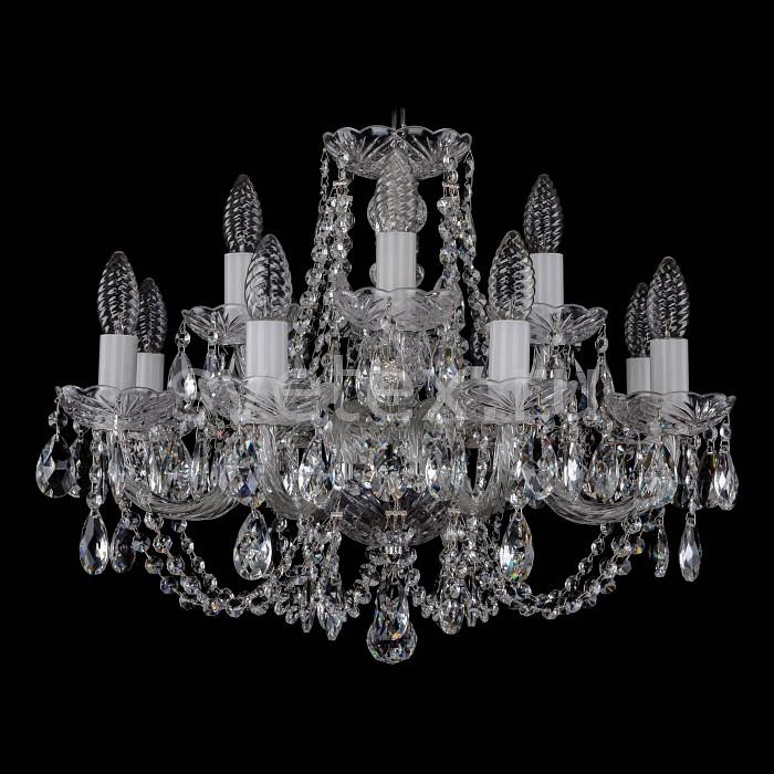 Фото Подвесная люстра Bohemia Ivele Crystal 1406 1406/8_4/195/Ni