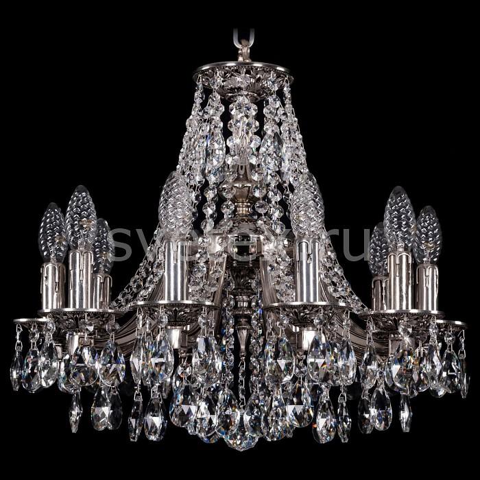 Подвесная люстра Bohemia Ivele CrystalБолее 6 ламп<br>Артикул - BI_1771_10_150_A_NB,Бренд - Bohemia Ivele Crystal (Чехия),Коллекция - 1771,Гарантия, месяцы - 24,Высота, мм - 440,Диаметр, мм - 520,Размер упаковки, мм - 450x450x200,Тип лампы - компактная люминесцентная [КЛЛ] ИЛИнакаливания ИЛИсветодиодная [LED],Общее кол-во ламп - 10,Напряжение питания лампы, В - 220,Максимальная мощность лампы, Вт - 40,Лампы в комплекте - отсутствуют,Цвет плафонов и подвесок - неокрашенный,Тип поверхности плафонов - прозрачный,Материал плафонов и подвесок - хрусталь,Цвет арматуры - никель черненый,Тип поверхности арматуры - матовый,Материал арматуры - металл,Возможность подлючения диммера - можно, если установить лампу накаливания,Форма и тип колбы - свеча ИЛИ свеча на ветру,Тип цоколя лампы - E14,Класс электробезопасности - I,Общая мощность, Вт - 400,Степень пылевлагозащиты, IP - 20,Диапазон рабочих температур - комнатная температура,Дополнительные параметры - способ крепления светильника к потолку - на крюке, указана высота светильники без подвеса<br>
