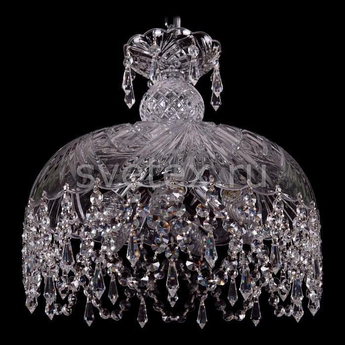 Фото Подвесной светильник Bohemia Ivele Crystal 7711 7711/35/Ni/Drops