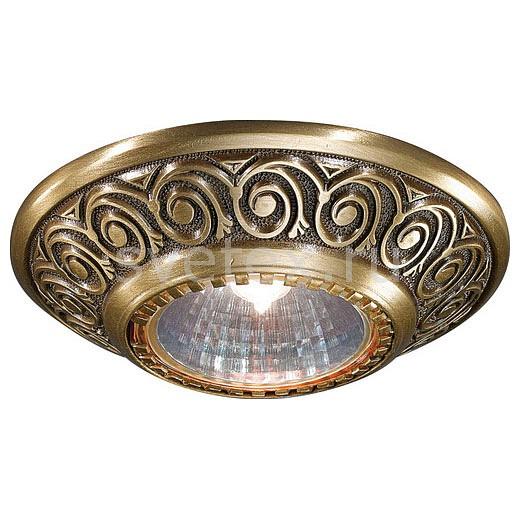 Встраиваемый светильник Reccagni AngeloПотолочные светильники<br>Артикул - RA_SPOT_7002,Бренд - Reccagni Angelo (Италия),Коллекция - 7002,Гарантия, месяцы - 24,Высота, мм - 60,Выступ, мм - 20,Глубина, мм - 40,Диаметр, мм - 100,Тип лампы - галогеновая ИЛИсветодиодная [LED],Общее кол-во ламп - 1,Напряжение питания лампы, В - 220,Максимальная мощность лампы, Вт - 50,Лампы в комплекте - отсутствуют,Цвет арматуры - бронза состаренная,Тип поверхности арматуры - матовый, рельефный,Материал арматуры - латунь,Возможность подлючения диммера - можно, если установить галогеновую лампу,Форма и тип колбы - полусферическая с рефлектором,Тип цоколя лампы - GU10,Класс электробезопасности - I,Степень пылевлагозащиты, IP - 20,Диапазон рабочих температур - комнатная температура<br>