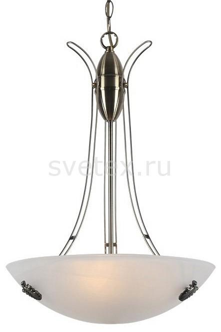 Подвесной светильник Arte LampСветодиодные<br>Артикул - AR_A8615SP-3AB,Бренд - Arte Lamp (Италия),Коллекция - Ninna,Гарантия, месяцы - 24,Высота, мм - 550-1050,Диаметр, мм - 400,Тип лампы - компактная люминесцентная [КЛЛ] ИЛИнакаливания ИЛИсветодиодная [LED],Общее кол-во ламп - 3,Напряжение питания лампы, В - 220,Максимальная мощность лампы, Вт - 40,Лампы в комплекте - отсутствуют,Цвет плафонов и подвесок - белый алебастр,Тип поверхности плафонов - матовый,Материал плафонов и подвесок - стекло,Цвет арматуры - бронза античная,Тип поверхности арматуры - матовый,Материал арматуры - металл,Количество плафонов - 3,Возможность подлючения диммера - можно, если установить лампу накаливания,Тип цоколя лампы - E27,Класс электробезопасности - I,Общая мощность, Вт - 120,Степень пылевлагозащиты, IP - 20,Диапазон рабочих температур - комнатная температура,Дополнительные параметры - способ крепления светильника к потолку - на крюке, регулируется по высоте<br>