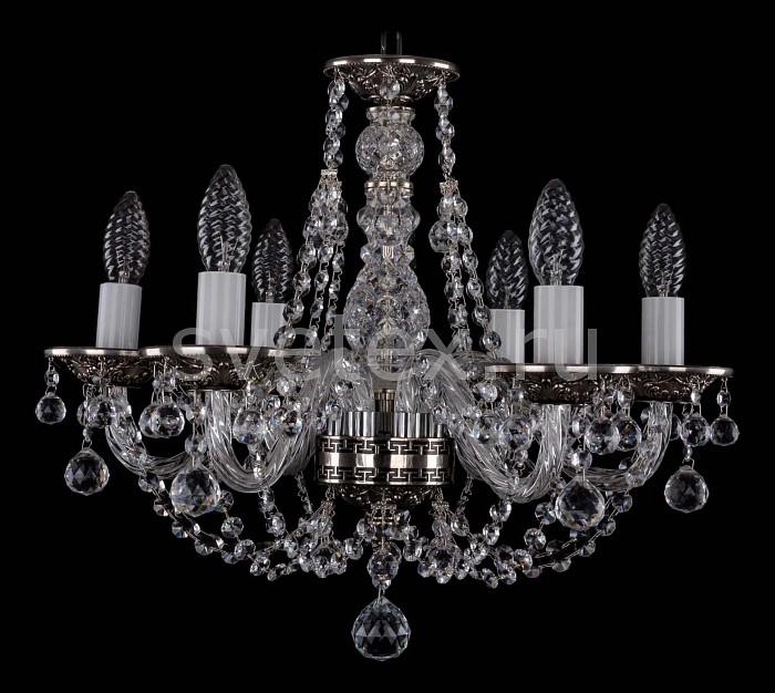Фото Подвесная люстра Bohemia Ivele Crystal 1606 1606/6/160/NB/Balls