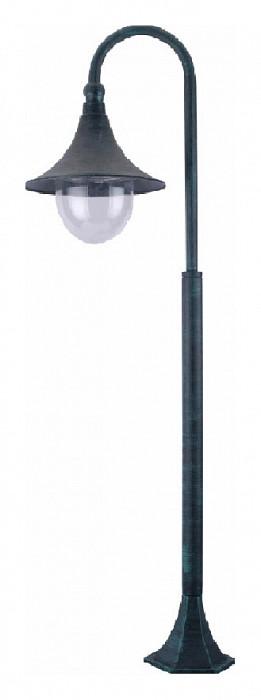 Фото Наземный высокий светильник Arte Lamp Malaga A1086PA-1BG