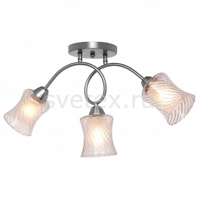 Потолочная люстра SilverLightЛюстра подвесная трехрожковая<br>Артикул - SL_132.55.3,Бренд - SilverLight (Франция),Коллекция - Evita,Гарантия, месяцы - 24,Высота, мм - 380,Диаметр, мм - 590,Размер упаковки, мм - 220x220x390,Тип лампы - компактная люминесцентная [КЛЛ] ИЛИнакаливания ИЛИсветодиодная [LED],Общее кол-во ламп - 3,Напряжение питания лампы, В - 220,Максимальная мощность лампы, Вт - 60,Лампы в комплекте - отсутствуют,Цвет плафонов и подвесок - белый, неокрашенный,Тип поверхности плафонов - матовый, прозрачный,Материал плафонов и подвесок - стекло,Цвет арматуры - хром,Тип поверхности арматуры - матовый,Материал арматуры - металл,Количество плафонов - 3,Возможность подлючения диммера - можно, если установить лампу накаливания,Тип цоколя лампы - E14,Класс электробезопасности - I,Общая мощность, Вт - 180,Степень пылевлагозащиты, IP - 20,Диапазон рабочих температур - комнатная температура,Дополнительные параметры - способ крепления светильника к потолку - на монтажной пластине<br>