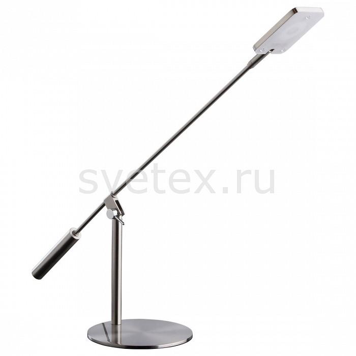 Настольная лампа MW-LightПолимерные<br>Артикул - MW_631033601,Бренд - MW-Light (Германия),Коллекция - Ракурс 8,Гарантия, месяцы - 24,Время изготовления, дней - 1,Ширина, мм - 160,Высота, мм - 600,Выступ, мм - 700,Диаметр, мм - 160,Тип лампы - светодиодная [LED],Общее кол-во ламп - 1,Напряжение питания лампы, В - 10,Максимальная мощность лампы, Вт - 5,Цвет лампы - белый теплый,Лампы в комплекте - светодиодная [LED],Цвет плафонов и подвесок - никель,Тип поверхности плафонов - матовый,Материал плафонов и подвесок - акрил, металл,Цвет арматуры - никель,Тип поверхности арматуры - матовый,Материал арматуры - металл,Количество плафонов - 1,Наличие выключателя, диммера или пульта ДУ - выключатель,Компоненты, входящие в комплект - провод электропитания с вилкой без заземления, блок питания 10В,Цветовая температура, K - 3000 K,Световой поток, лм - 400,Экономичнее лампы накаливания - в 8.4 раза,Светоотдача, лм/Вт - 80,Класс электробезопасности - II,Напряжение питания, В - 220,Степень пылевлагозащиты, IP - 20,Диапазон рабочих температур - комнатная температура<br>