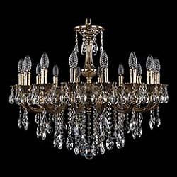 Подвесная люстра Bohemia Ivele CrystalБолее 6 ламп<br>Артикул - BI_1702_16_B_GB,Бренд - Bohemia Ivele Crystal (Чехия),Коллекция - 1702,Гарантия, месяцы - 24,Высота, мм - 500,Диаметр, мм - 730,Размер упаковки, мм - 640x640x320,Тип лампы - компактная люминесцентная [КЛЛ] ИЛИнакаливания ИЛИсветодиодная [LED],Общее кол-во ламп - 16,Напряжение питания лампы, В - 220,Максимальная мощность лампы, Вт - 40,Лампы в комплекте - отсутствуют,Цвет плафонов и подвесок - неокрашенный,Тип поверхности плафонов - прозрачный,Материал плафонов и подвесок - хрусталь,Цвет арматуры - золото черненое,Тип поверхности арматуры - глянцевый, рельефный,Материал арматуры - латунь,Возможность подлючения диммера - можно, если установить лампу накаливания,Форма и тип колбы - свеча ИЛИ свеча на ветру,Тип цоколя лампы - E14,Класс электробезопасности - I,Общая мощность, Вт - 640,Степень пылевлагозащиты, IP - 20,Диапазон рабочих температур - комнатная температура,Дополнительные параметры - способ крепления светильника к потолку - на крюке, указана высота светильника без подвеса<br>