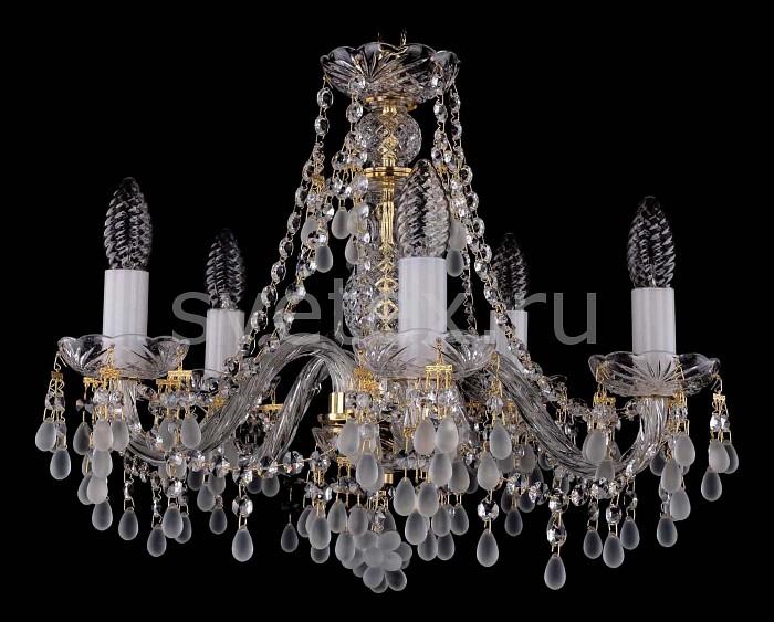 Фото Подвесная люстра Bohemia Ivele Crystal 1410 1410/5/160/G/0300