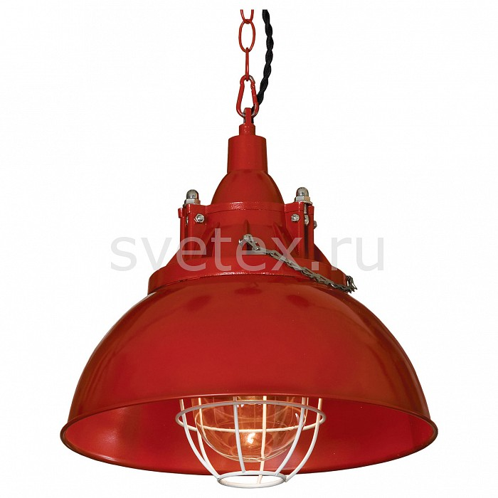 Подвесной светильник LussoleБарные<br>Артикул - LSP-9895,Бренд - Lussole (Италия),Коллекция - Loft,Гарантия, месяцы - 24,Высота, мм - 300-1000,Диаметр, мм - 320,Тип лампы - компактная люминесцентная [КЛЛ] ИЛИнакаливания ИЛИсветодиодная [LED],Общее кол-во ламп - 1,Напряжение питания лампы, В - 220,Максимальная мощность лампы, Вт - 60,Лампы в комплекте - отсутствуют,Цвет плафонов и подвесок - красный,Тип поверхности плафонов - матовый,Материал плафонов и подвесок - металл,Цвет арматуры - красный,Тип поверхности арматуры - матовый,Материал арматуры - металл,Количество плафонов - 1,Возможность подлючения диммера - можно, если установить лампу накаливания,Тип цоколя лампы - E27,Класс электробезопасности - I,Степень пылевлагозащиты, IP - 20,Диапазон рабочих температур - комнатная температура,Дополнительные параметры - способ крепления светильника к потолку - на монтажной пластине, регулируется по высоте<br>
