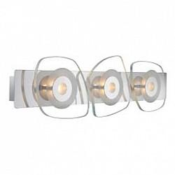 Накладной светильник GloboСветодиодные<br>Артикул - GB_41710-3,Бренд - Globo (Австрия),Коллекция - Zarima,Гарантия, месяцы - 24,Тип лампы - светодиодная [LED],Общее кол-во ламп - 3,Напряжение питания лампы, В - 9,Максимальная мощность лампы, Вт - 4.5,Лампы в комплекте - светодиодные [LED],Цвет плафонов и подвесок - неокрашенный,Тип поверхности плафонов - прозрачный,Материал плафонов и подвесок - стекло,Цвет арматуры - хром,Тип поверхности арматуры - глянцевый,Материал арматуры - металл,Возможность подлючения диммера - нельзя,Класс электробезопасности - I,Общая мощность, Вт - 13,Степень пылевлагозащиты, IP - 20,Диапазон рабочих температур - комнатная температура<br>