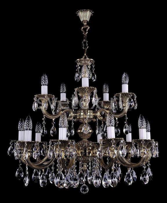 Фото Подвесная люстра Bohemia Ivele Crystal 1702 1702/10_5/A/GB
