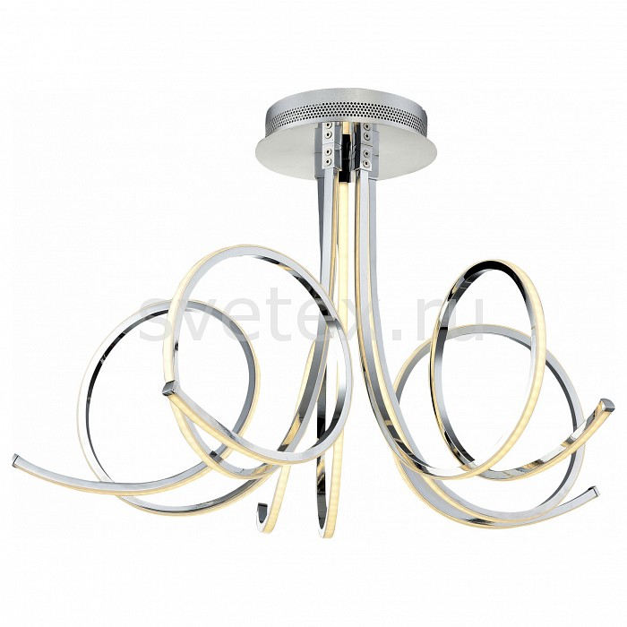 Потолочная люстра ST-LuceМеталлические плафоны<br>Артикул - SL915.112.05,Бренд - ST-Luce (Италия),Коллекция - SL915,Гарантия, месяцы - 24,Время изготовления, дней - 1,Высота, мм - 400,Диаметр, мм - 650,Размер упаковки, мм - 740х720х480,Тип лампы - светодиодная [LED],Общее кол-во ламп - 5,Напряжение питания лампы, В - 220,Максимальная мощность лампы, Вт - 14, 4,Цвет лампы - белый,Лампы в комплекте - светодиодные [LED],Цвет плафонов и подвесок - белый, хром,Тип поверхности плафонов - глянцевый, матовый,Материал плафонов и подвесок - акрил, металл,Цвет арматуры - хром,Тип поверхности арматуры - глянцевый,Материал арматуры - металл,Количество плафонов - 5,Возможность подлючения диммера - нельзя,Цветовая температура, K - 4000 K,Класс электробезопасности - I,Общая мощность, Вт - 72,Степень пылевлагозащиты, IP - 20,Диапазон рабочих температур - комнатная температура,Дополнительные параметры - способ крепления светильника к потолку – на монтажной пластине<br>