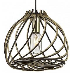 Подвесной светильник Odeon LightБарные<br>Артикул - OD_2893_1,Бренд - Odeon Light (Италия),Коллекция - Spira,Гарантия, месяцы - 24,Высота, мм - 400-1000,Диаметр, мм - 240,Тип лампы - компактная люминесцентная [КЛЛ] ИЛИнакаливания ИЛИсветодиодная [LED],Общее кол-во ламп - 1,Напряжение питания лампы, В - 220,Максимальная мощность лампы, Вт - 40,Лампы в комплекте - отсутствуют,Цвет плафонов и подвесок - коричневый,Тип поверхности плафонов - матовый,Материал плафонов и подвесок - клееная фанера,Цвет арматуры - коричневый,Тип поверхности арматуры - матовый,Материал арматуры - металл,Возможность подлючения диммера - можно, если установить лампу накаливания,Тип цоколя лампы - E14,Класс электробезопасности - I,Степень пылевлагозащиты, IP - 20,Диапазон рабочих температур - комнатная температура,Дополнительные параметры - способ крепления светильника на потолке - на крюке<br>