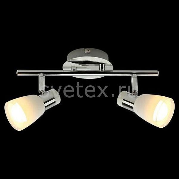 Спот EurosvetСпоты<br>Артикул - EV_77289,Бренд - Eurosvet (Китай),Коллекция - 20048,Гарантия, месяцы - 24,Длина, мм - 276,Ширина, мм - 70,Выступ, мм - 133,Тип лампы - компактная люминесцентная [КЛЛ] ИЛИнакаливания ИЛИсветодиодная [LED],Общее кол-во ламп - 2,Напряжение питания лампы, В - 220,Максимальная мощность лампы, Вт - 40,Лампы в комплекте - отсутствуют,Цвет плафонов и подвесок - белый с прозрачной каймой,Тип поверхности плафонов - матовый,Материал плафонов и подвесок - стекло,Цвет арматуры - хром,Тип поверхности арматуры - глянцевый,Материал арматуры - металл,Количество плафонов - 2,Возможность подлючения диммера - можно, если установить лампу накаливания,Тип цоколя лампы - E14,Класс электробезопасности - I,Общая мощность, Вт - 80,Степень пылевлагозащиты, IP - 20,Диапазон рабочих температур - комнатная температура,Дополнительные параметры - поворотный светильник<br>