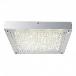 Накладной светильник GloboКвадратные<br>Артикул - GB_49210,Бренд - Globo (Австрия),Коллекция - Maxime,Гарантия, месяцы - 24,Тип лампы - светодиодная [LED],Общее кол-во ламп - 1,Напряжение питания лампы, В - 54.4,Максимальная мощность лампы, Вт - 17,Лампы в комплекте - светодиодная [LED],Цвет плафонов и подвесок - неокрашенный,Тип поверхности плафонов - прозрачный,Материал плафонов и подвесок - стекло, хрусталь K5,Цвет арматуры - хром,Тип поверхности арматуры - глянцевый,Материал арматуры - металл,Возможность подлючения диммера - нельзя,Класс электробезопасности - I,Степень пылевлагозащиты, IP - 20,Диапазон рабочих температур - комнатная температура<br>