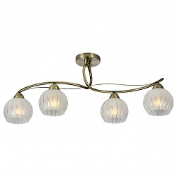 Потолочная люстра IDLampНе более 4 ламп<br>Артикул - ID_237_4PF-Oldbronze,Бренд - IDLamp (Италия),Коллекция - 237,Высота, мм - 300,Тип лампы - компактная люминесцентная [КЛЛ] ИЛИнакаливания ИЛИсветодиодная [LED],Общее кол-во ламп - 4,Напряжение питания лампы, В - 220,Максимальная мощность лампы, Вт - 60,Лампы в комплекте - отсутствуют,Цвет плафонов и подвесок - белый полосатый,Тип поверхности плафонов - матовый,Материал плафонов и подвесок - стекло,Цвет арматуры - бронза античная,Тип поверхности арматуры - глянцевый,Материал арматуры - металл,Возможность подлючения диммера - можно, если установить лампу накаливания,Тип цоколя лампы - E27,Класс электробезопасности - I,Общая мощность, Вт - 240,Степень пылевлагозащиты, IP - 20,Диапазон рабочих температур - комнатная температура,Дополнительные параметры - способ крепления светильника к потолку – на монтажной пластине<br>