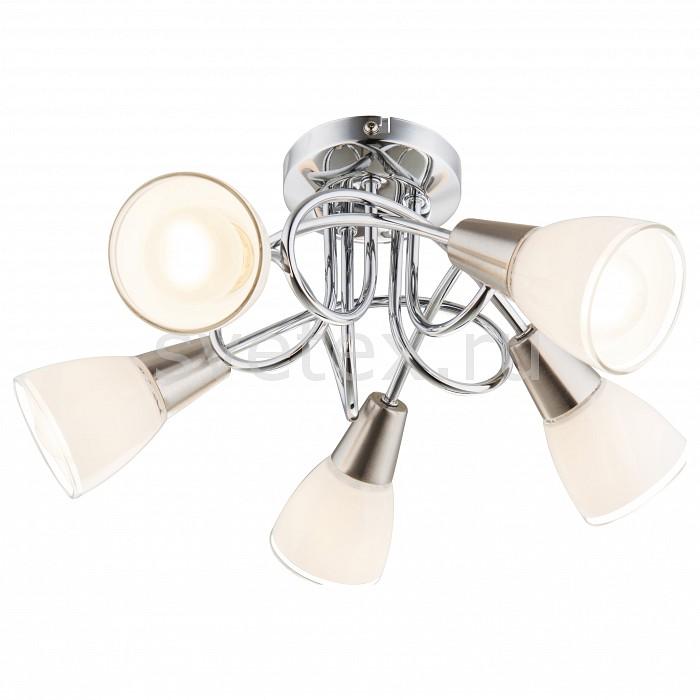 Потолочная люстра GloboЛюстры<br>Артикул - GB_63177-5,Бренд - Globo (Австрия),Коллекция - Timon,Гарантия, месяцы - 24,Высота, мм - 200,Диаметр, мм - 380,Тип лампы - компактная люминесцентная [КЛЛ] ИЛИнакаливания ИЛИсветодиодная [LED],Общее кол-во ламп - 5,Напряжение питания лампы, В - 220,Максимальная мощность лампы, Вт - 40,Лампы в комплекте - отсутствуют,Цвет плафонов и подвесок - белый,Тип поверхности плафонов - матовый,Материал плафонов и подвесок - стекло,Цвет арматуры - хром,Тип поверхности арматуры - глянцевый,Материал арматуры - металл,Количество плафонов - 3,Возможность подлючения диммера - можно, если установить лампу накаливания,Тип цоколя лампы - E14,Класс электробезопасности - I,Общая мощность, Вт - 200,Степень пылевлагозащиты, IP - 20,Диапазон рабочих температур - комнатная температура,Дополнительные параметры - способ крепления светильника к потолку - на монтажной пластине<br>