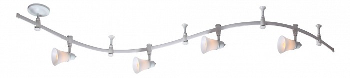 Комплект CitiluxШинные<br>Артикул - CL560240,Бренд - Citilux (Дания),Коллекция - 560,Гарантия, месяцы - 24,Длина, мм - 2000,Ширина, мм - 120,Выступ, мм - 120,Тип лампы - компактная люминесцентная [КЛЛ] ИЛИнакаливания ИЛИсветодиодная [LED],Общее кол-во ламп - 4,Напряжение питания лампы, В - 220,Максимальная мощность лампы, Вт - 60,Лампы в комплекте - отсутствуют,Цвет плафонов и подвесок - белый,Тип поверхности плафонов - матовый,Материал плафонов и подвесок - стекло,Цвет арматуры - белый,Тип поверхности арматуры - матовый,Материал арматуры - металл,Количество плафонов - 4,Возможность подлючения диммера - можно, если установить лампу накаливания,Форма и тип колбы - груша плоская,Тип цоколя лампы - E14,Класс электробезопасности - I,Общая мощность, Вт - 240,Степень пылевлагозащиты, IP - 20,Диапазон рабочих температур - комнатная температура,Дополнительные параметры - поворотный светильник, рефлекторная лампа R50 (диаметр колбы 50 мм) или аналоги<br>