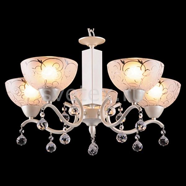 Подвесная люстра EurosvetХРУСТАЛЬНЫЕ светильники<br>Артикул - EV_5315,Бренд - Eurosvet (Китай),Коллекция - 29500,Гарантия, месяцы - 24,Высота, мм - 720-870,Диаметр, мм - 550,Тип лампы - компактная люминесцентная [КЛЛ] ИЛИнакаливания ИЛИсветодиодная [LED],Общее кол-во ламп - 5,Напряжение питания лампы, В - 220,Максимальная мощность лампы, Вт - 60,Лампы в комплекте - отсутствуют,Цвет плафонов и подвесок - белый с рисунком, неокрашенный,Тип поверхности плафонов - матовый, прозрачный,Материал плафонов и подвесок - стекло, хрусталь,Цвет арматуры - белый перламутровый,Тип поверхности арматуры - глянцевый,Материал арматуры - металл,Количество плафонов - 5,Тип цоколя лампы - E27,Класс электробезопасности - I,Общая мощность, Вт - 300,Степень пылевлагозащиты, IP - 20,Диапазон рабочих температур - комнатная температура<br>