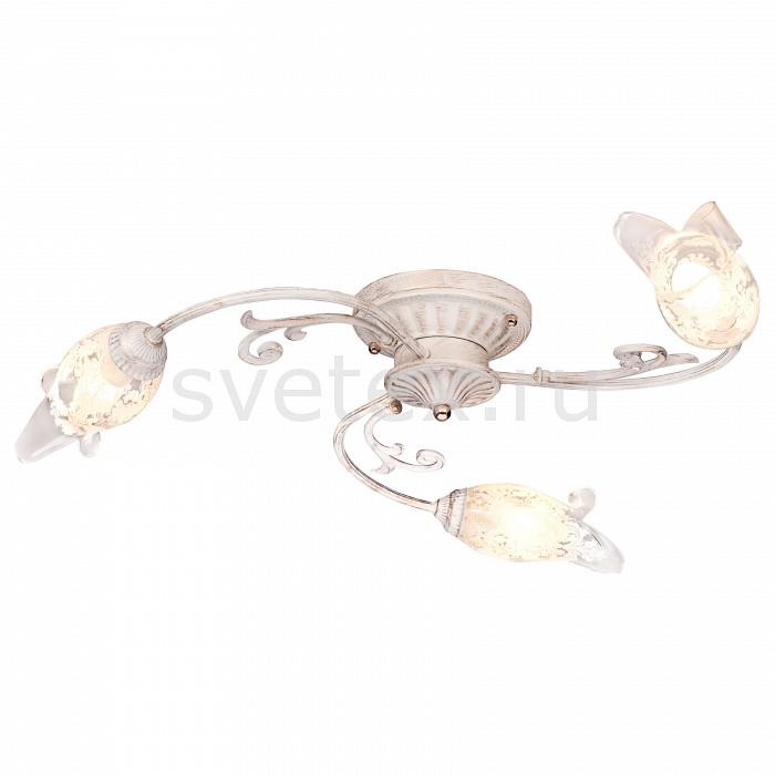 Потолочная люстра SilverLightЛюстры<br>Артикул - SL_709.51.3,Бренд - SilverLight (Франция),Коллекция - Largo,Гарантия, месяцы - 24,Высота, мм - 240,Диаметр, мм - 740,Тип лампы - компактная люминесцентная [КЛЛ] ИЛИнакаливания ИЛИсветодиодная [LED],Общее кол-во ламп - 3,Напряжение питания лампы, В - 220,Максимальная мощность лампы, Вт - 60,Лампы в комплекте - отсутствуют,Цвет плафонов и подвесок - неокрашенный с белым рисунком,Тип поверхности плафонов - матовый, прозрачный,Материал плафонов и подвесок - стекло,Цвет арматуры - белый с золотой патиной,Тип поверхности арматуры - матовый,Материал арматуры - металл,Количество плафонов - 3,Возможность подлючения диммера - можно, если установить лампу накаливания,Тип цоколя лампы - E14,Класс электробезопасности - I,Общая мощность, Вт - 180,Степень пылевлагозащиты, IP - 20,Диапазон рабочих температур - комнатная температура,Дополнительные параметры - способ крепления светильника на потолке - на монтажной пластине<br>