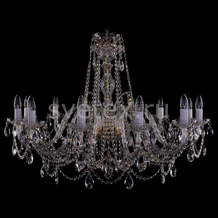 Фото Подвесная люстра Bohemia Ivele Crystal 1411 1411/12/380-72/G