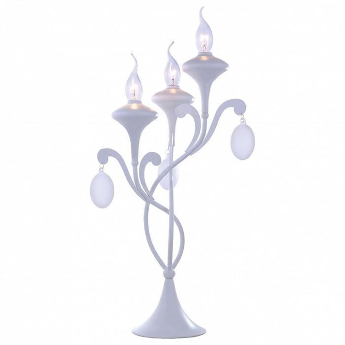 Фото Настольная лампа Arte Lamp E14 220В 40Вт Montmartre A3239LT-3WH