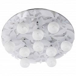 Потолочная люстра MW-LightСветодиодные<br>Артикул - MW_360014010,Бренд - MW-Light (Германия),Коллекция - Амелия 3,Гарантия, месяцы - 24,Высота, мм - 160,Диаметр, мм - 600,Размер упаковки, мм - 615x615x205,Тип лампы - галогеновая,Общее кол-во ламп - 10,Напряжение питания лампы, В - 220,Максимальная мощность лампы, Вт - 40,Лампы в комплекте - галогеновые G9,Цвет плафонов и подвесок - белый с неокрашенным рисунком,Тип поверхности плафонов - матовый, прозрачный,Материал плафонов и подвесок - стекло,Цвет арматуры - хром,Тип поверхности арматуры - глянцевый,Материал арматуры - металл,Форма и тип колбы - пальчиковая,Тип цоколя лампы - G9,Класс электробезопасности - I,Общая мощность, Вт - 400,Степень пылевлагозащиты, IP - 20,Диапазон рабочих температур - комнатная температура,Дополнительные параметры - светильник декорирован светодиодами<br>