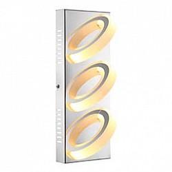 Накладной светильник GloboСветодиодные<br>Артикул - GB_67062-3,Бренд - Globo (Австрия),Коллекция - Mangue,Гарантия, месяцы - 24,Размер упаковки, мм - 130x105x325,Тип лампы - светодиодная [LED],Общее кол-во ламп - 3,Напряжение питания лампы, В - 12,Максимальная мощность лампы, Вт - 5,Лампы в комплекте - светодиодные [LED],Цвет плафонов и подвесок - белый,Тип поверхности плафонов - матовый,Материал плафонов и подвесок - акрил,Цвет арматуры - хром,Тип поверхности арматуры - глянцевый,Материал арматуры - металл,Возможность подлючения диммера - нельзя,Класс электробезопасности - I,Общая мощность, Вт - 15,Степень пылевлагозащиты, IP - 20,Диапазон рабочих температур - комнатная температура,Дополнительные параметры - способ крепления светильника к потолку и стене - на монтажной пластине<br>