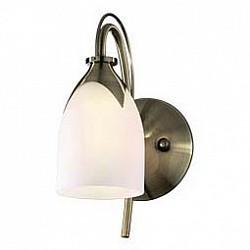 Бра Odeon LightС 1 лампой<br>Артикул - OD_2079_1W,Бренд - Odeon Light (Италия),Коллекция - Risto,Гарантия, месяцы - 24,Время изготовления, дней - 1,Высота, мм - 264,Тип лампы - компактная люминесцентная [КЛЛ] ИЛИнакаливания ИЛИсветодиодная [LED],Общее кол-во ламп - 1,Напряжение питания лампы, В - 220,Максимальная мощность лампы, Вт - 60,Лампы в комплекте - отсутствуют,Цвет плафонов и подвесок - белый,Тип поверхности плафонов - матовый,Материал плафонов и подвесок - стекло,Цвет арматуры - бронза,Тип поверхности арматуры - глянцевый,Материал арматуры - металл,Возможность подлючения диммера - можно, если установить лампу накаливания,Тип цоколя лампы - E14,Класс электробезопасности - I,Степень пылевлагозащиты, IP - 20,Диапазон рабочих температур - комнатная температура,Дополнительные параметры - светильник предназначен для использования со скрытой проводкой<br>