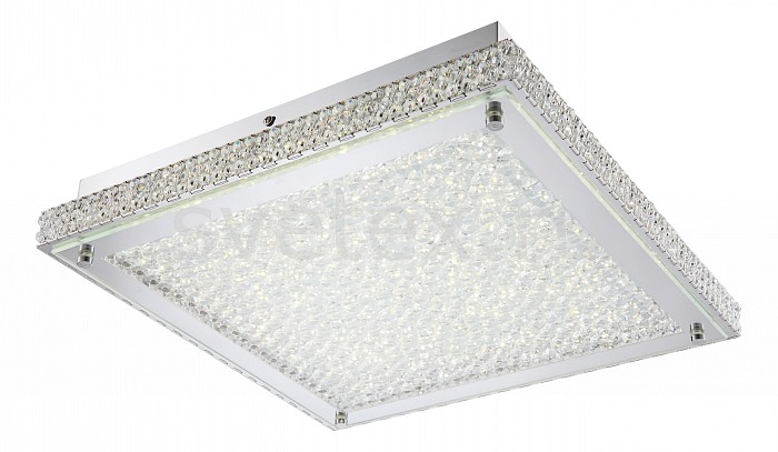 Накладной светильник GloboКвадратные<br>Артикул - GB_49334D,Бренд - Globo (Австрия),Коллекция - Curado,Гарантия, месяцы - 24,Длина, мм - 390,Ширина, мм - 390,Высота, мм - 90,Размер упаковки, мм - 1300x400x200,Тип лампы - светодиодная [LED],Общее кол-во ламп - 1,Напряжение питания лампы, В - 48,Максимальная мощность лампы, Вт - 44,Цвет лампы - белый теплый,Лампы в комплекте - светодиодная [LED],Цвет плафонов и подвесок - неокрашенный,Тип поверхности плафонов - матовый, прозрачный,Материал плафонов и подвесок - стекло, хрусталь K5,Цвет арматуры - хром,Тип поверхности арматуры - глянцевый,Материал арматуры - металл,Количество плафонов - 1,Наличие выключателя, диммера или пульта ДУ - пульт ДУ,Компоненты, входящие в комплект - трансформатор 48В,Цветовая температура, K - 3000 K,Световой поток, лм - 4480,Экономичнее лампы накаливания - в 6.4 раза,Светоотдача, лм/Вт - 101,Класс электробезопасности - I,Напряжение питания, В - 220,Степень пылевлагозащиты, IP - 20,Диапазон рабочих температур - комнатная температура,Дополнительные параметры - способ крепления светильника к потолку - на монтажной пластине<br>