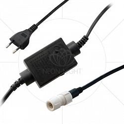 Контроллер Неон-НайтКонтроллеры<br>Артикул - NN_245-901,Бренд - Неон-Найт (Россия),Коллекция - Умный дождь,Время изготовления, дней - 1,Класс электробезопасности - II,Степень пылевлагозащиты, IP - 44,Диапазон рабочих температур - от -40^C до +60^C,Дополнительные параметры - программируемый контроллер на 8 программ, максимальное число подключаемых секций 3х3 м по 12 нитей — 30 (90 м), в памяти контроллера  24 оригинальных программы<br>