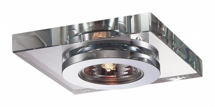 Встраиваемый светильник NovotechКвадратные<br>Артикул - NV_369408,Бренд - Novotech (Венгрия),Коллекция - Cosmo,Гарантия, месяцы - 24,Время изготовления, дней - 1,Длина, мм - 110,Ширина, мм - 110,Глубина, мм - 20,Размер врезного отверстия, мм - 55,Тип лампы - галогеновая ИЛИсветодиодная [LED],Общее кол-во ламп - 1,Напряжение питания лампы, В - 12,Максимальная мощность лампы, Вт - 50,Лампы в комплекте - отсутствуют,Цвет плафонов и подвесок - неокрашенный,Тип поверхности плафонов - прозрачный,Материал плафонов и подвесок - стекло,Цвет арматуры - алюминий,Тип поверхности арматуры - глянцевый,Материал арматуры - алюминиевое литье,Количество плафонов - 1,Возможность подлючения диммера - можно, если установить галогеновую лампу,Форма и тип колбы - полусферическая с рефлектором ИЛИполусферическая с радиатором,Тип цоколя лампы - GX5.3,Экономичнее лампы накаливания - на 50%,Класс электробезопасности - III,Напряжение питания, В - 220,Степень пылевлагозащиты, IP - 20,Диапазон рабочих температур - комнатная температура,Дополнительные параметры - возможна установка лампы GX5.3 (MR-16) на 12 В с подключением через трансформатор 12 В<br>