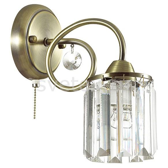 Бра LumionХРУСТАЛЬНЫЕ светильники<br>Артикул - LMN_3448_1W,Бренд - Lumion (Италия),Коллекция - Fabianna,Гарантия, месяцы - 24,Ширина, мм - 120,Высота, мм - 240,Выступ, мм - 230,Размер упаковки, мм - 170x230x165,Тип лампы - компактная люминесцентная [КЛЛ] ИЛИнакаливания ИЛИсветодиодная [LED],Общее кол-во ламп - 1,Напряжение питания лампы, В - 220,Максимальная мощность лампы, Вт - 60,Лампы в комплекте - отсутствуют,Цвет плафонов и подвесок - неокрашенный,Тип поверхности плафонов - прозрачный,Материал плафонов и подвесок - хрусталь,Цвет арматуры - бронза, неокрашенный,Тип поверхности арматуры - матовый,Материал арматуры - металл, хрусталь,Количество плафонов - 1,Наличие выключателя, диммера или пульта ДУ - выключатель шнуровой,Возможность подлючения диммера - можно, если установить лампу накаливания,Тип цоколя лампы - E14,Класс электробезопасности - I,Степень пылевлагозащиты, IP - 20,Диапазон рабочих температур - комнатная температура,Дополнительные параметры - способ крепления светильника к стене - на монтажной пластине, светильник предназначен для использования со скрытой проводкой<br>