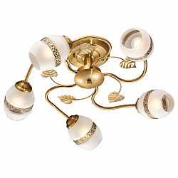 Люстра на штанге Odeon Light5 или 6 ламп<br>Артикул - OD_2458_5,Бренд - Odeon Light (Италия),Коллекция - Lima,Гарантия, месяцы - 24,Время изготовления, дней - 1,Высота, мм - 220,Диаметр, мм - 560,Тип лампы - компактная люминесцентная [КЛЛ] ИЛИнакаливания ИЛИсветодиодная [LED],Общее кол-во ламп - 5,Напряжение питания лампы, В - 220,Максимальная мощность лампы, Вт - 60,Лампы в комплекте - отсутствуют,Цвет плафонов и подвесок - белый, бронза,Тип поверхности плафонов - матовый, рельефный,Материал плафонов и подвесок - стекло, металл,Цвет арматуры - бронза,Тип поверхности арматуры - матовый,Материал арматуры - металл,Возможность подлючения диммера - можно, если установить лампу накаливания,Тип цоколя лампы - E27,Класс электробезопасности - I,Общая мощность, Вт - 300,Степень пылевлагозащиты, IP - 20,Диапазон рабочих температур - комнатная температура<br>