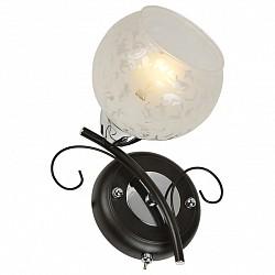 Бра IDLampС 1 лампой<br>Артикул - ID_234_1A-Blackchrome,Бренд - IDLamp (Италия),Коллекция - 234,Высота, мм - 210,Тип лампы - компактная люминесцентная [КЛЛ] ИЛИнакаливания ИЛИсветодиодная [LED],Общее кол-во ламп - 1,Напряжение питания лампы, В - 220,Максимальная мощность лампы, Вт - 60,Лампы в комплекте - отсутствуют,Цвет плафонов и подвесок - белый с рисунком,Тип поверхности плафонов - матовый, прозрачный,Материал плафонов и подвесок - стекло,Цвет арматуры - хром, черный,Тип поверхности арматуры - глянцевый, матовый,Материал арматуры - металл,Возможность подлючения диммера - можно, если установить лампу накаливания,Тип цоколя лампы - E27,Класс электробезопасности - I,Степень пылевлагозащиты, IP - 20,Диапазон рабочих температур - комнатная температура,Дополнительные параметры - светильник предназначен для использования со скрытой проводкой, способ крепления светильника к стене – на монтажной пластине<br>