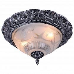 Накладной светильник Arte LampКруглые<br>Артикул - AR_A8001PL-2SB,Бренд - Arte Lamp (Италия),Коллекция - Piatti,Гарантия, месяцы - 24,Высота, мм - 180,Диаметр, мм - 340,Тип лампы - компактная люминесцентная [КЛЛ] ИЛИнакаливания ИЛИсветодиодная [LED],Общее кол-во ламп - 2,Напряжение питания лампы, В - 220,Максимальная мощность лампы, Вт - 60,Лампы в комплекте - отсутствуют,Цвет плафонов и подвесок - неокрашенный,Тип поверхности плафонов - матовый, рельефный,Материал плафонов и подвесок - стекло,Цвет арматуры - серебро черненное,Тип поверхности арматуры - матовый, рельефный,Материал арматуры - полимер,Возможность подлючения диммера - можно, если установить лампу накаливания,Тип цоколя лампы - E27,Класс электробезопасности - I,Общая мощность, Вт - 120,Степень пылевлагозащиты, IP - 20,Диапазон рабочих температур - комнатная температура<br>
