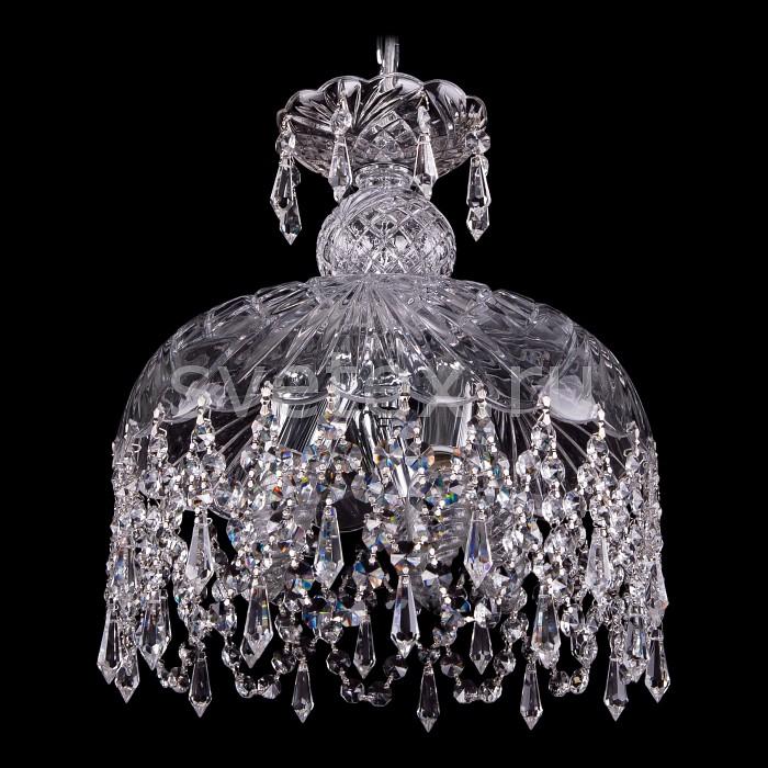 Фото Подвесной светильник Bohemia Ivele Crystal 7711 7711/30/Ni/Drops