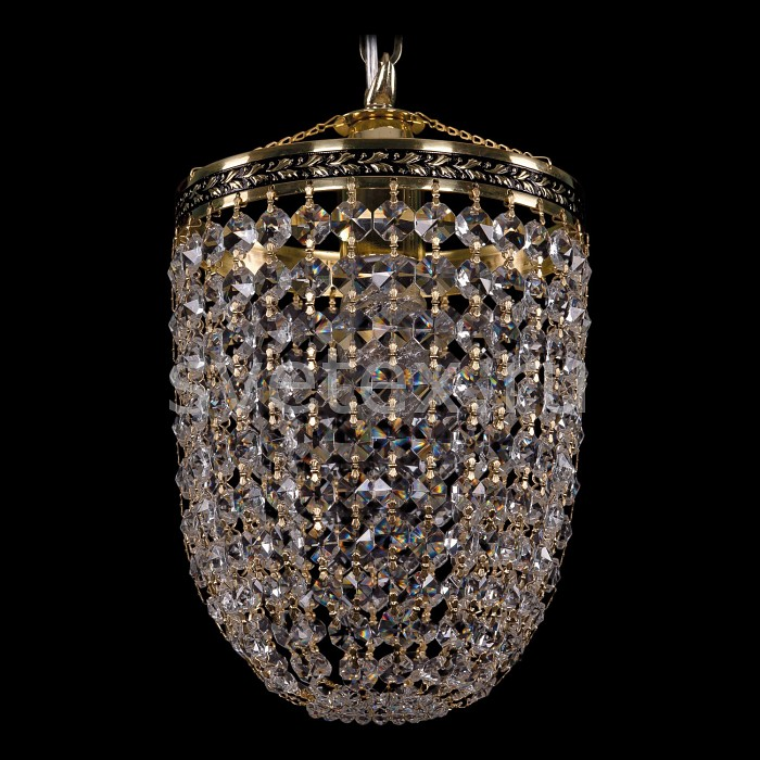 Подвесной светильник Bohemia Ivele CrystalПодвесные светильники<br>Артикул - BI_1920_15_O_GB,Бренд - Bohemia Ivele Crystal (Чехия),Коллекция - 1920,Гарантия, месяцы - 24,Высота, мм - 260,Диаметр, мм - 150,Размер упаковки, мм - 250x180x170,Тип лампы - компактная люминесцентная [КЛЛ] ИЛИнакаливания ИЛИсветодиодная [LED],Общее кол-во ламп - 1,Напряжение питания лампы, В - 220,Максимальная мощность лампы, Вт - 40,Лампы в комплекте - отсутствуют,Цвет плафонов и подвесок - неокрашенный,Тип поверхности плафонов - прозрачный,Материал плафонов и подвесок - хрусталь,Цвет арматуры - золото черненое,Тип поверхности арматуры - глянцевый, рельефный,Материал арматуры - латунь,Возможность подлючения диммера - можно, если установить лампу накаливания,Тип цоколя лампы - E14,Класс электробезопасности - I,Степень пылевлагозащиты, IP - 20,Диапазон рабочих температур - комнатная температура,Дополнительные параметры - способ крепления светильника к потолку - на крюке, указана высота светильника без подвеса<br>