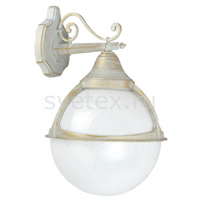Светильник на штанге Arte LampСветильники<br>Артикул - AR_A1492AL-1WG,Бренд - Arte Lamp (Италия),Коллекция - Monaco,Гарантия, месяцы - 24,Время изготовления, дней - 1,Ширина, мм - 270,Высота, мм - 450,Выступ, мм - 300,Диаметр, мм - 270,Размер упаковки, мм - 300x255x430,Тип лампы - компактная люминесцентная [КЛЛ] ИЛИнакаливания ИЛИсветодиодная [LED],Общее кол-во ламп - 1,Напряжение питания лампы, В - 220,Максимальная мощность лампы, Вт - 100,Лампы в комплекте - отсутствуют,Цвет плафонов и подвесок - белый,Тип поверхности плафонов - матовый,Материал плафонов и подвесок - поликарбонат,Цвет арматуры - бело-золотой,Тип поверхности арматуры - матовый,Материал арматуры - металл,Количество плафонов - 1,Тип цоколя лампы - E27,Класс электробезопасности - II,Степень пылевлагозащиты, IP - 44,Диапазон рабочих температур - от -40^C до +40^C<br>