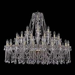 Подвесная люстра Bohemia Ivele CrystalБолее 6 ламп<br>Артикул - BI_1413_24_12_6_460_100_G,Бренд - Bohemia Ivele Crystal (Чехия),Коллекция - 1413,Гарантия, месяцы - 24,Высота, мм - 1000,Диаметр, мм - 1450,Размер упаковки, мм - 710x710x350,Тип лампы - компактная люминесцентная [КЛЛ] ИЛИнакаливания ИЛИсветодиодная [LED],Общее кол-во ламп - 42,Напряжение питания лампы, В - 220,Максимальная мощность лампы, Вт - 40,Лампы в комплекте - отсутствуют,Цвет плафонов и подвесок - неокрашенный,Тип поверхности плафонов - прозрачный,Материал плафонов и подвесок - хрусталь,Цвет арматуры - золото, неокрашенный,Тип поверхности арматуры - глянцевый, прозрачный, рельефный,Материал арматуры - металл, стекло,Возможность подлючения диммера - можно, если установить лампу накаливания,Форма и тип колбы - свеча ИЛИ свеча на ветру,Тип цоколя лампы - E14,Класс электробезопасности - I,Общая мощность, Вт - 1680,Степень пылевлагозащиты, IP - 20,Диапазон рабочих температур - комнатная температура,Дополнительные параметры - способ крепления светильника к потолку - на крюке, указана высота светильника без подвеса<br>