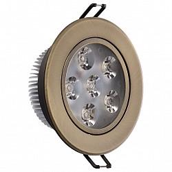Встраиваемый светильник MW-LightВстраиваемые светильники<br>Артикул - MW_637013106,Бренд - MW-Light (Германия),Коллекция - Круз,Гарантия, месяцы - 24,Диаметр, мм - 100,Тип лампы - светодиодная [LED],Общее кол-во ламп - 6,Напряжение питания лампы, В - 220,Максимальная мощность лампы, Вт - 1,Лампы в комплекте - светодиодные [LED],Цвет арматуры - бронза,Тип поверхности арматуры - матовый,Материал арматуры - металл,Класс электробезопасности - I,Общая мощность, Вт - 6,Степень пылевлагозащиты, IP - 20,Диапазон рабочих температур - комнатная температура,Дополнительные параметры - поворотный светильник<br>