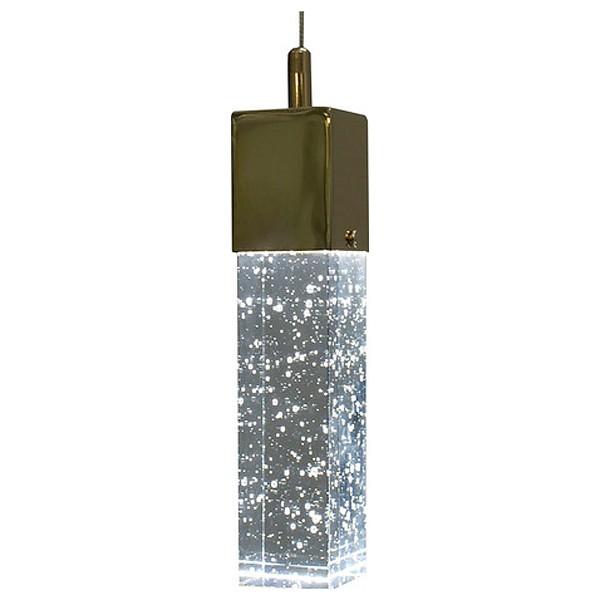 Подвесной светильник Kink LightДля кухни<br>Артикул - KL_08510-1A.33,Бренд - Kink Light (Китай),Коллекция - Аква,Гарантия, месяцы - 24,Длина, мм - 100,Ширина, мм - 100,Высота, мм - 1000,Тип лампы - светодиодная [LED],Общее кол-во ламп - 1,Напряжение питания лампы, В - 220,Максимальная мощность лампы, Вт - 3,Цвет лампы - белый теплый, белый, белый дневной,Лампы в комплекте - светодиодная [LED],Цвет плафонов и подвесок - неокрашенный,Тип поверхности плафонов - прозрачная,Материал плафонов и подвесок - стекло,Цвет арматуры - золото,Тип поверхности арматуры - глянцевый,Материал арматуры - металл,Количество плафонов - 1,Возможность подлючения диммера - нельзя,Цветовая температура, K - 3000 K, 4200 K, 6000 K,Экономичнее лампы накаливания - в 10 раз,Класс электробезопасности - I,Степень пылевлагозащиты, IP - 20,Диапазон рабочих температур - комнатная температура,Дополнительные параметры - способ крепления светильника к потолку - на монжатной пластине, регулируется по высоте<br>