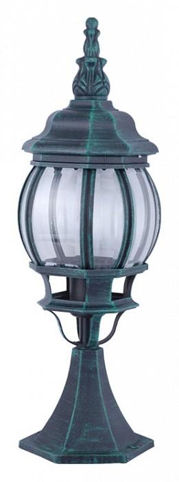Фото Наземный низкий светильник Arte Lamp Atlanta A1044FN-1BG