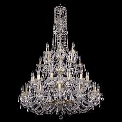 Подвесная люстра Bohemia Ivele CrystalБолее 6 ламп<br>Артикул - BI_1406_12_12_6_6_300_130_G,Бренд - Bohemia Ivele Crystal (Чехия),Коллекция - 1406,Гарантия, месяцы - 24,Высота, мм - 1300,Диаметр, мм - 820,Размер упаковки, мм - 710x710x350,Тип лампы - компактная люминесцентная [КЛЛ] ИЛИнакаливания ИЛИсветодиодная [LED],Общее кол-во ламп - 36,Напряжение питания лампы, В - 220,Максимальная мощность лампы, Вт - 40,Лампы в комплекте - отсутствуют,Цвет плафонов и подвесок - неокрашенный,Тип поверхности плафонов - прозрачный,Материал плафонов и подвесок - хрусталь,Цвет арматуры - золото, неокрашенный,Тип поверхности арматуры - глянцевый, прозрачный, рельефный,Материал арматуры - металл, стекло,Возможность подлючения диммера - можно, если установить лампу накаливания,Форма и тип колбы - свеча ИЛИ свеча на ветру,Тип цоколя лампы - E14,Класс электробезопасности - I,Общая мощность, Вт - 1440,Степень пылевлагозащиты, IP - 20,Диапазон рабочих температур - комнатная температура,Дополнительные параметры - способ крепления светильника к потолку - на крюке, указана высота светильника без подвеса<br>